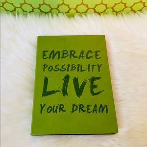 Embrace Possibility Live Your Dream Journal Gift